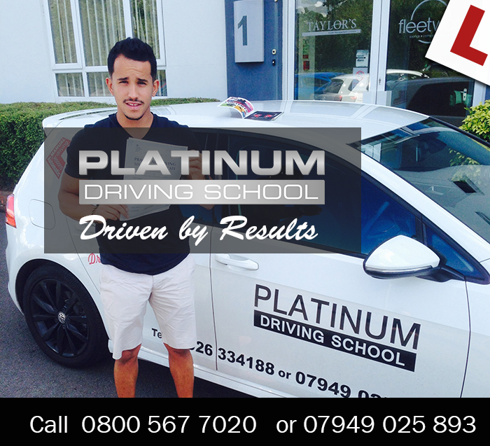 Driving Lessons from Platinum Driving School.